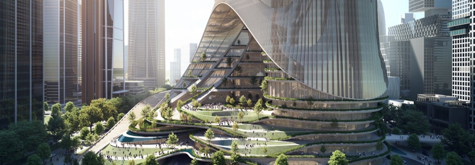 A skyscraper will purify Shenzhen's air with aquaponic gardens