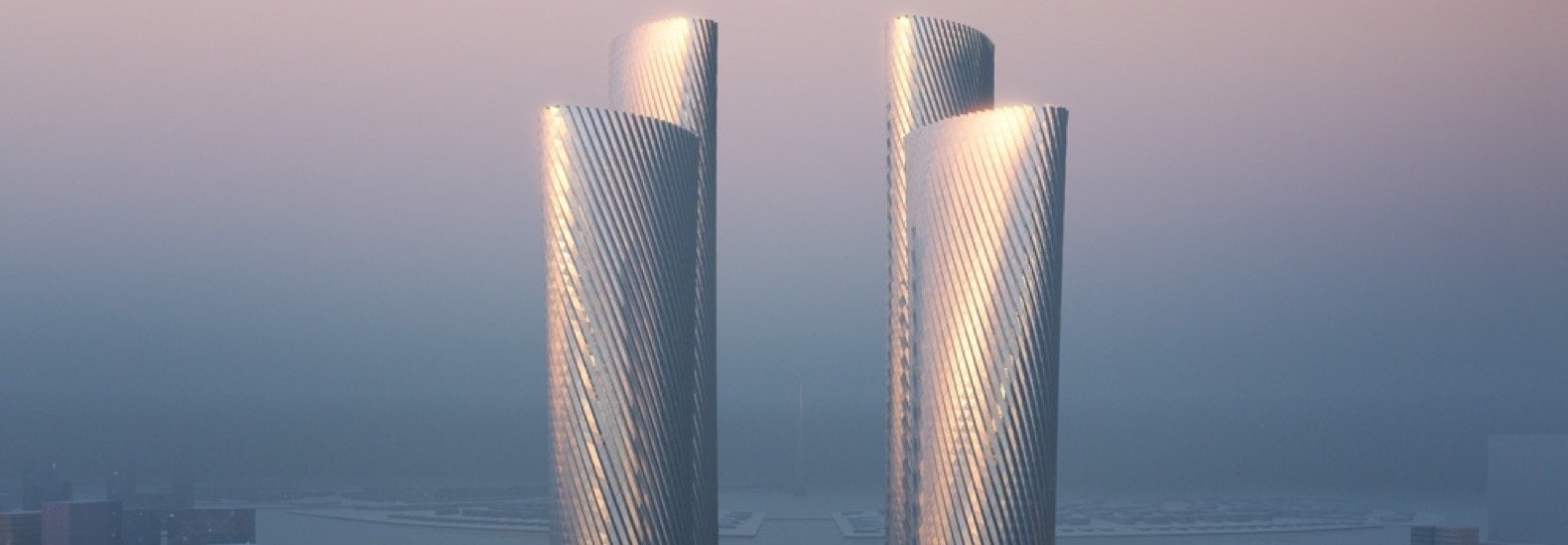 Foster + Partners designs climate-responsive Lusail Towers in Qatar