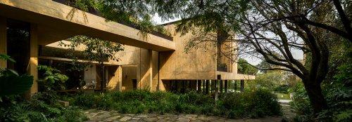 Casa CBC incorporates greenery at every level