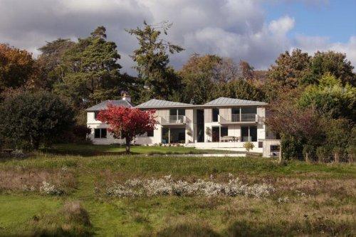 Victorian farmhouse transforms into low-energy modern home
