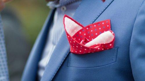 Purposefully stylish with pocket squares