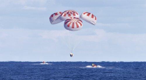 NASA confirms SpaceX Crew Dragon Parachutes Test Failed