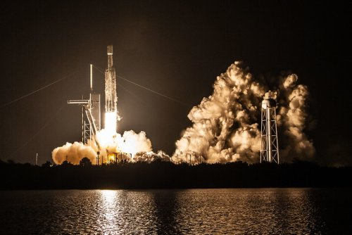 SpaceX Falcon Heavy Rocket's Third Flight A Success Despite Failure To Recover Center Core Booster