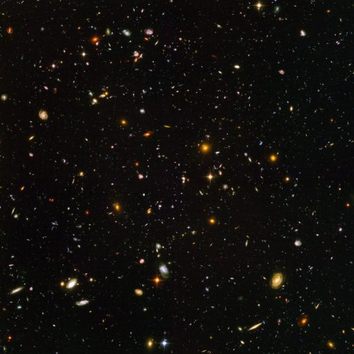 Hubble Space Telescope's observations used to produce image containing 265,000 galaxies