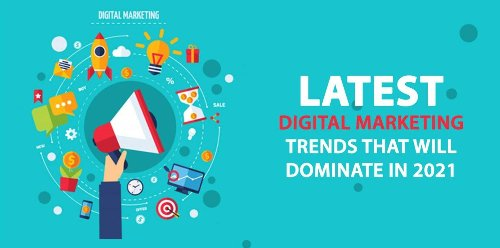 Latest Digital Marketing Trends that will dominate in 2021