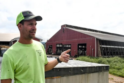 Fighting climate change down on the farm in Pennsylvania