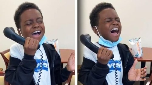 9-Year-Old Performs Stunning Rendition of National Anthem at School