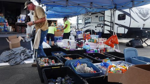 Residents of Louisiana City Come Together to Rebuild, 3 Weeks Post-Hurricane Ida