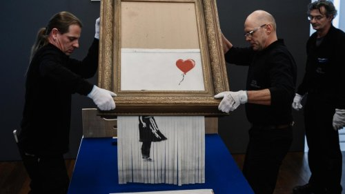 Banksy's Shredded Painting Sells for Record $25.4 Million
