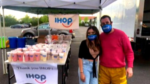 IHOP Hosts All-You-Can-Eat Milkshake Monday to Honor Adam Sandler