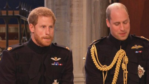 Princes William and Harry Won't Sit Next to Each Other at Grandfather's Funeral