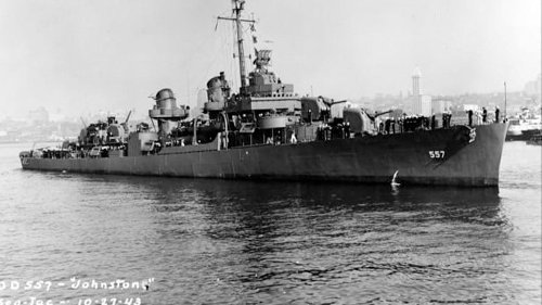 What We Know About the World's Deepest Shipwreck, the USS Johnston