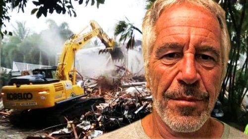 Jeffrey Epstein's Former Palm Beach Mansion Is Demolished