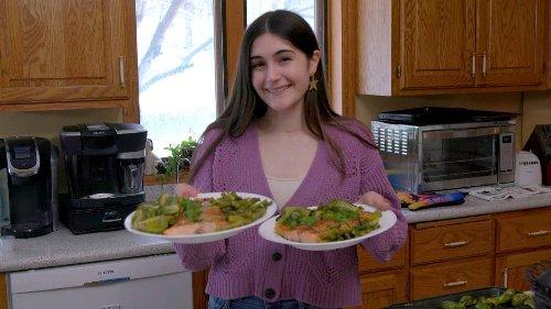 How to Make Teen Chef Ariana Feygin's Hit Salmon and Veggies