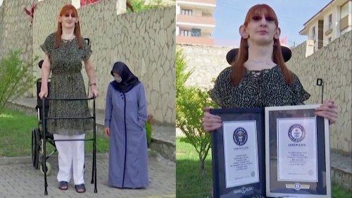 World's Tallest Living Woman Stands Over 7 Feet Tall