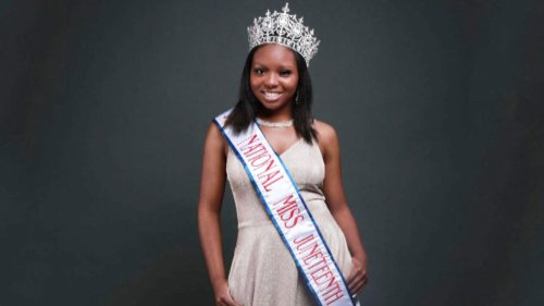 17-Year-Old Miss Juneteenth Sanija Gay Wanted June 19 to Be a Federal Holiday
