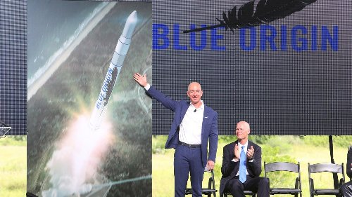 Bidder Wins Seat on Jeff Bezos' Rocket for $28M