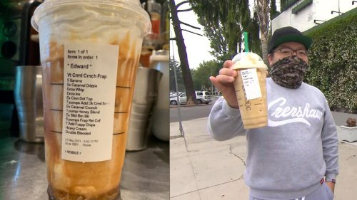 Starbucks Barista Fired for Posting Long Drink Order on Social Media