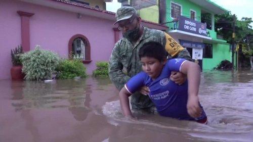 Heavy Rains Cause Devastating Floods in Mexico's Oaxaca Region