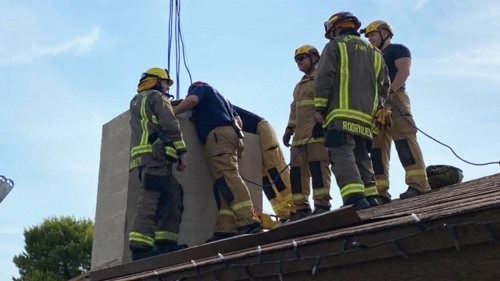 18-Year-Old Saved From Chimney in Nevada Home After Getting Locked Out