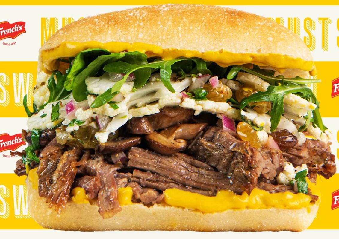 The Secret Ingredient in Tom Colicchio's New Steak Sandwich? Yellow Mustard.