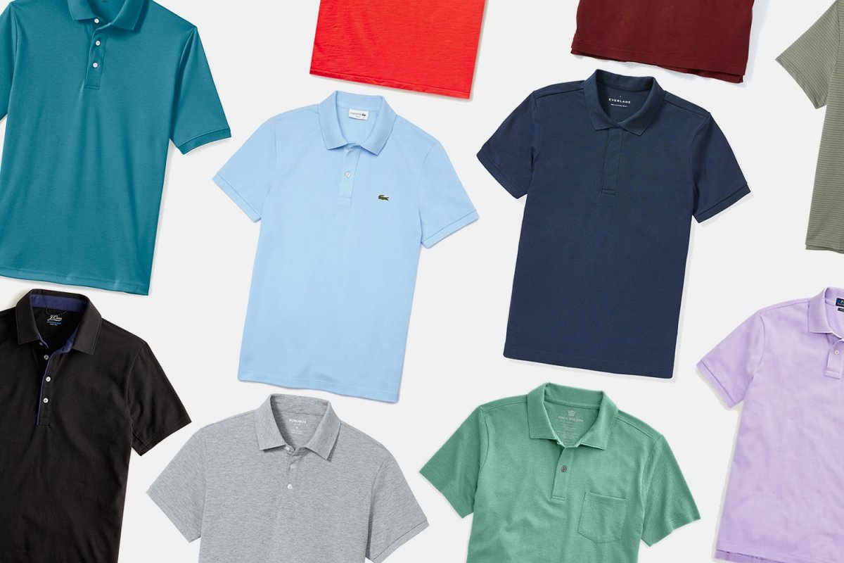 From Mesh to Jersey, the 20 Best Polos for Men