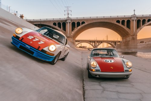 Street Racing Through LA With the World's Most Notorious Porsche Collector