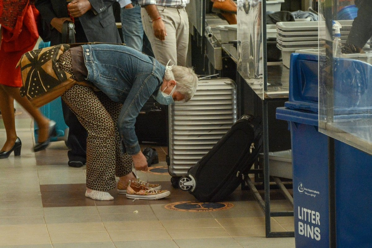 A New Technology Might Save Us from Having to Remove Our Shoes at Airport Security