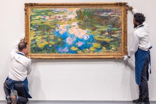 "Claude Monet's ""Le Bassin aux Nymphéas"" is Being Auctioned Next Week"