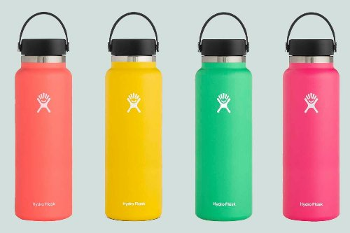 Hydro Flask's Colorful 40oz Water Bottles Are 25% Off