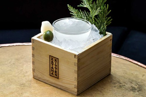 The Hinoki Martini Represents the Best of Japanese and American Drinking Culture