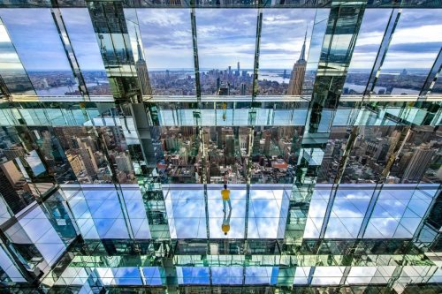 The Best View of Manhattan Is in This Glass-Enclosed Elevator 1,200 Feet Above Midtown