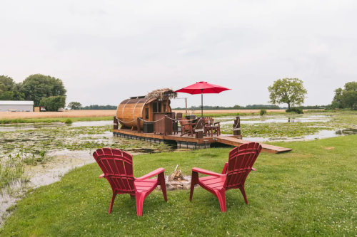 10 of the Coolest Upcycled Airbnbs You Can Rent Right Now