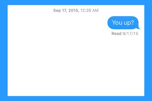 How to Sext Like An Adult - InsideHook