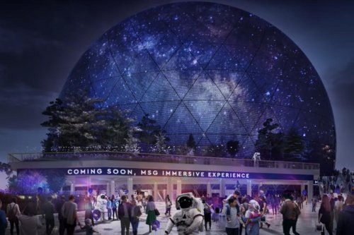 Madison Square Garden Wants to Build a a Giant, Glowing Concert Orb in London
