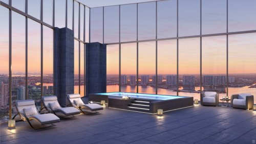 Giorgio Armani's Miami Tower Offers Sublime Penthouse Views for $17M