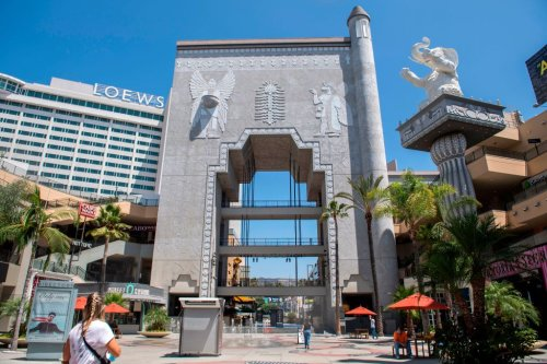 Architectural Tribute to D.W. Griffith Film Removed at Hollywood & Highland