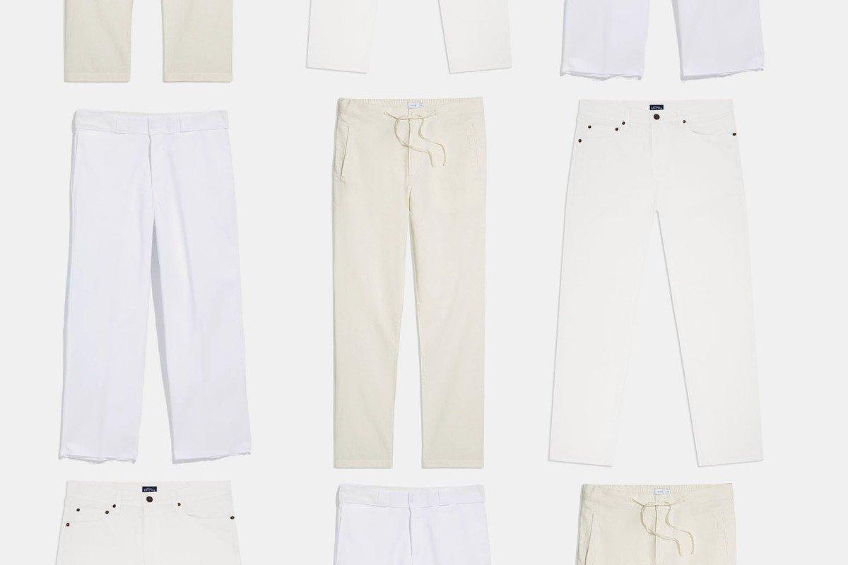 The 11 Best White Pants for Men in Summer 2021 - InsideHook