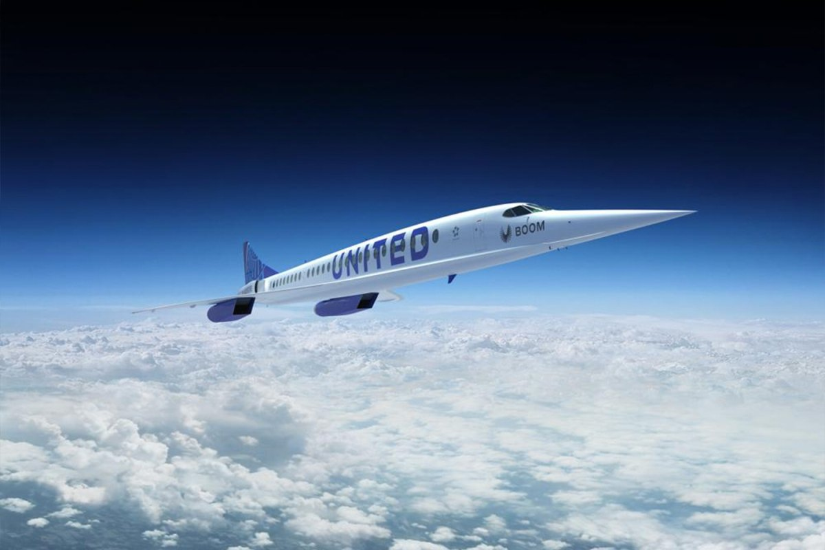 United Airlines Has Unveiled Plans for a Supersonic Fleet