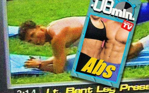 """The Cheesy, Sexed-Up """"8-Minute Abs"""" Video Still Holds Up, 25 Years Later"""
