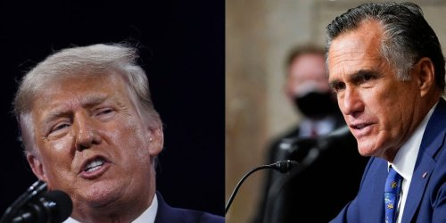 Donald Trump Jr. says he was 'just f---ing' with Mitt Romney by calling for him to be expelled from the Senate, book says