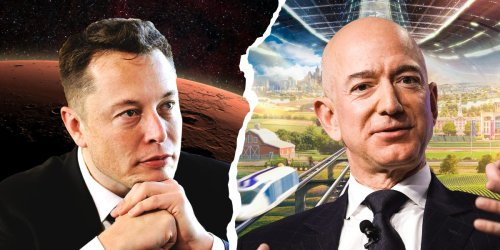Elon Musk and Jeff Bezos are at odds again over a $2.9 billion NASA contract. It's the latest development in a 15-year feud between 2 of the world's most powerful CEOs.