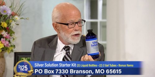 Televangelist Jim Bakker was ordered to pay $156,000 for touting the 'Silver Solution,' a fake COVID cure that contains a dangerous ingredient