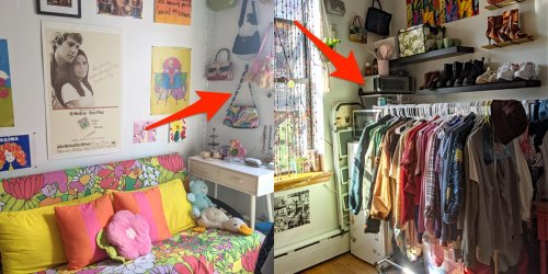 I live in a 72-square-foot apartment in NYC for $1,350. Here are 10 ways I make the most of my small space.