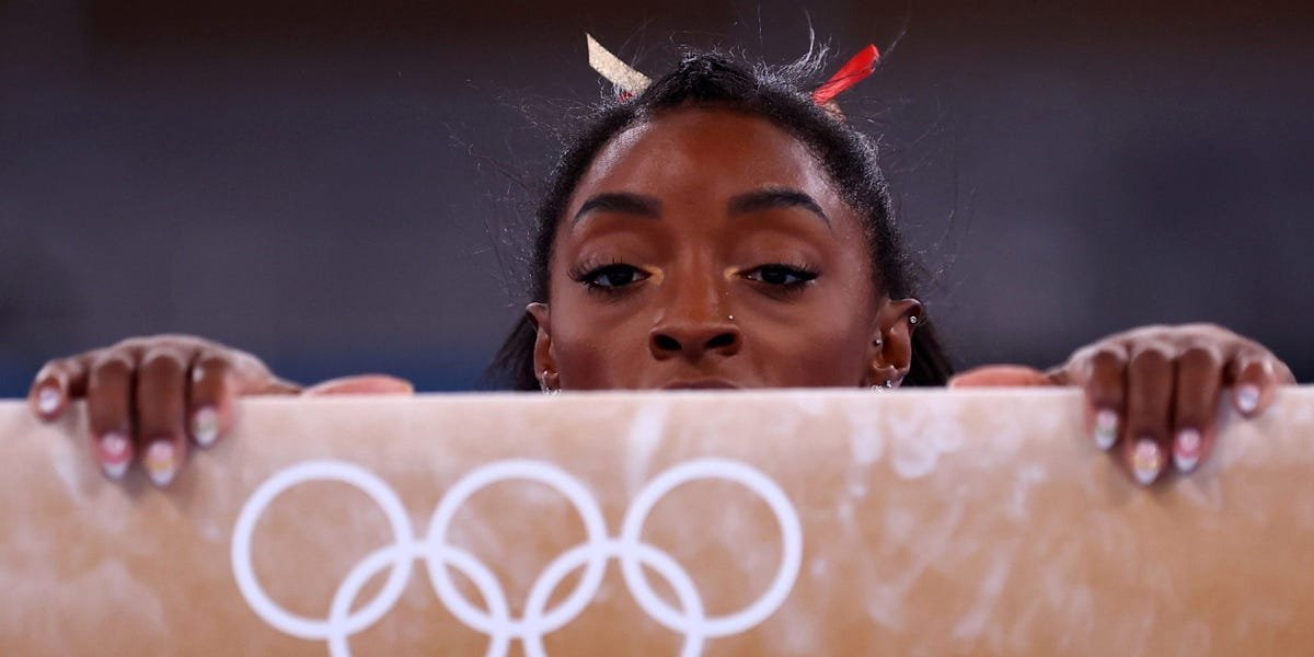 Simone Biles gave the biggest clue yet that her Olympics is over, saying she can't 'comprehend how to twist' right now
