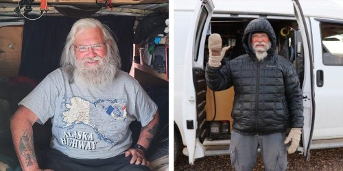 How to live in a van without air-conditioning or heat, according to a van dweller who played himself in 'Nomadland'