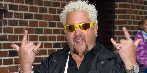 Guy Fieri says he's 'not a breakfast guy at all' and only eats it about twice a month