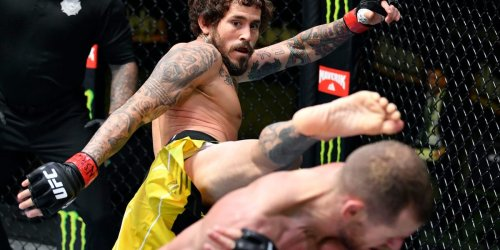 Marlon Vera showed the devastating effect of elbow striking at UFC Vegas 29 as he bloodied Davey Grant