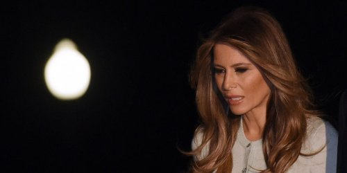 Melania Trump slept through most of election night 2020 and had to be woken up for her husband's speech, according to former top aide's book