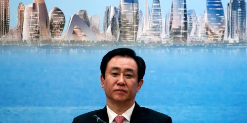 Chinese authorities have told Evergrande's billionaire founder to use his own money to pay down the company's $300 billion debt, Bloomberg reports